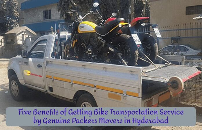 Bike Packers & Movers in Hyderabad