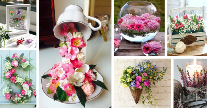 Simple Way to Decorate the Home with Beautiful Flower
