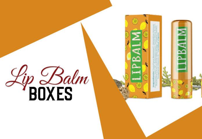 custom lip balm boxes